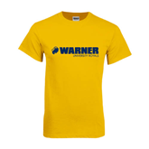Gold T Shirt-Warner University Royals w/ Lion Head
