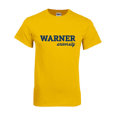 Gold T Shirt-Warner University