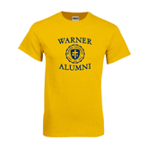 Gold T Shirt-Warner Alumni
