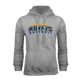Grey Fleece Hoodie-Softball