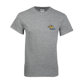 Sport Grey T Shirt-Warner Royals w/ Lion