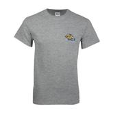 Grey T Shirt-Warner Royals w/ Lion