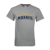Sport Grey T Shirt-Arched Warner University Royals
