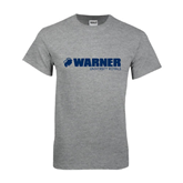 Sport Grey T Shirt-Warner University Royals w/ Lion Head