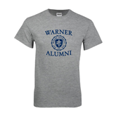 Sport Grey T Shirt-Warner Alumni