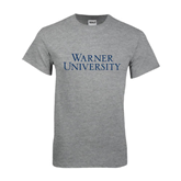 Sport Grey T Shirt-Warner University Stacked