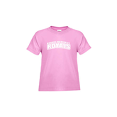 Toddler Pink T Shirt-Arched Warner University Royals