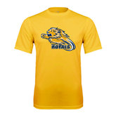 Performance Gold Tee-Warner Royals w/ Lion