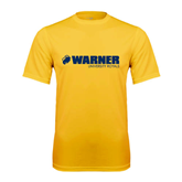 Performance Gold Tee-Warner University Royals w/ Lion Head