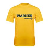 Performance Gold Tee-Warner University