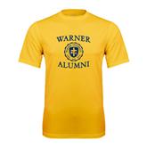Performance Gold Tee-Warner Alumni