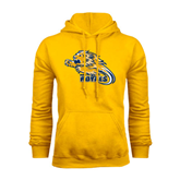 Gold Fleece Hoodie-Warner Royals w/ Lion
