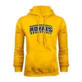 Gold Fleece Hoodie-Basketball