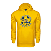 Under Armour Gold Performance Sweats Team Hood-Soccer Circle Design
