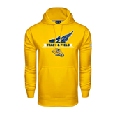 Under Armour Gold Performance Sweats Team Hood-Track and Field Design