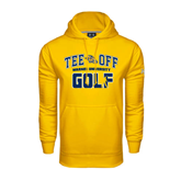 Under Armour Gold Performance Sweats Team Hoodie-Track and Field Design