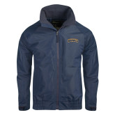 Navy Charger Jacket-Arched Warner University Royals
