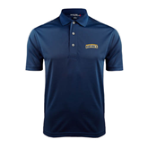 Navy Dry Mesh Polo-Arched Warner University Royals