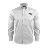 Red House White Long Sleeve Shirt-Warner Royals w/ Lion
