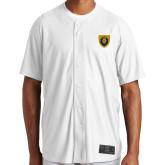 New Era White Diamond Era Jersey-Lion Head Shield
