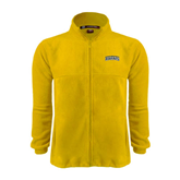Fleece Full Zip Gold Jacket-Arched Warner University Royals