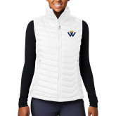 Columbia Lake 22 Ladies White Vest-W Crown