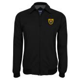Black Players Jacket-Lion Head Shield