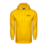 Under Armour Gold Performance Sweats Team Hoodie-Arched Warner University Royals