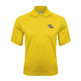 Gold Dri Mesh Pro Polo-Warner Royals w/ Lion