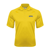 Gold Dri Mesh Pro Polo-Arched Warner University Royals