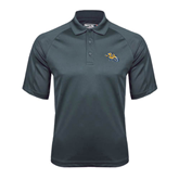 Charcoal Dri Mesh Pro Polo-Warner Royals w/ Lion