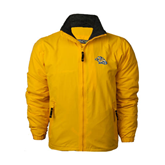 Gold Survivor Jacket-Warner Royals w/ Lion
