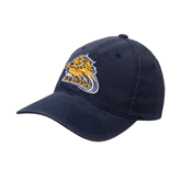 Navy OttoFlex Unstructured Low Profile Hat-Warner Royals w/ Lion