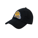 Black Twill Unstructured Low Profile Hat-Warner Royals w/ Lion