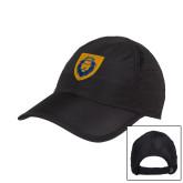 Black Performance Cap-Lion Head Shield