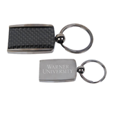 Corbetta Key Holder-Warner University Stacked Engraved