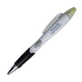 Blossom White Pen/Highlighter-Warner University  Stacked