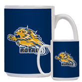 Full Color White Mug 15oz-Warner Royals w/ Lion