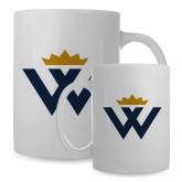 Full Color White Mug 15oz-W Crown