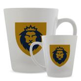 Full Color Latte Mug 12oz-Lion Head Shield
