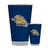 Full Color Glass 17oz-Warner Royals w/ Lion