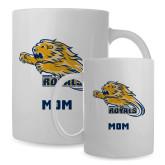 Mom Full Color White Mug 15oz-Warner Royals w/ Lion