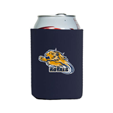 Collapsible Navy Can Holder-Warner Royals w/ Lion