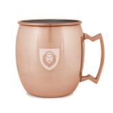 Copper Mug 16oz-Lion Head Shield Engraved