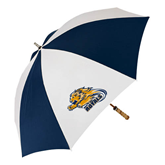 62 Inch Navy/White Umbrella-Warner Royals w/ Lion