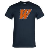 Navy T Shirt-W
