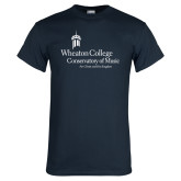 Navy T Shirt-Conservatory of Music