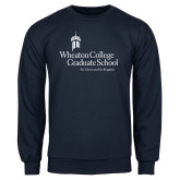 Navy Fleece Crew-Graduate School