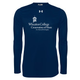 Under Armour Navy Long Sleeve Tech Tee-Conservatory of Music