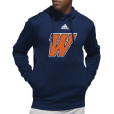 Adidas Navy Team Issue Hoodie-W